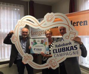 € 539,55 uit Rabobank Clubkas Campagne